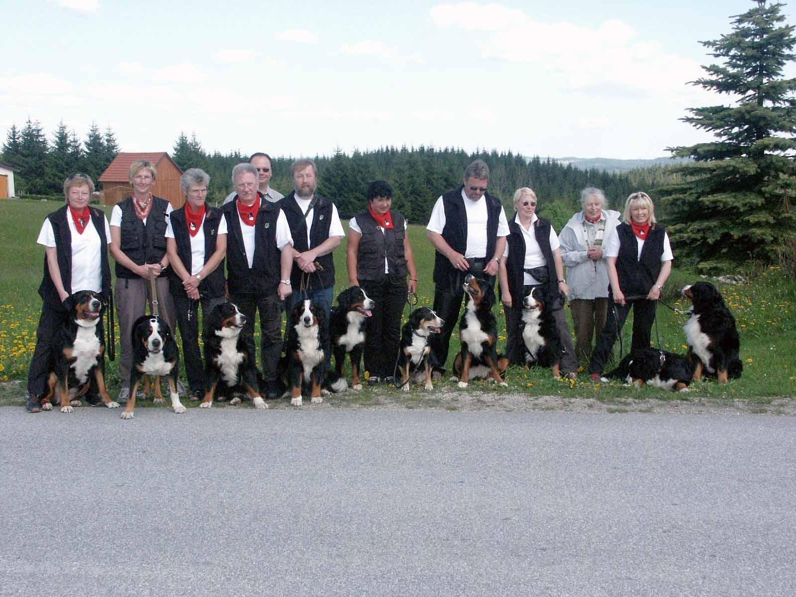 Zughundefreunde aus Westfalen Mai 2005